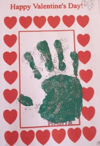 Hands for Valentines
